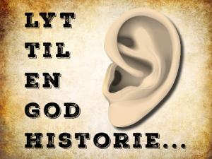 Lyt til en god historie, højtlæsning på Holstebro Bibliotek