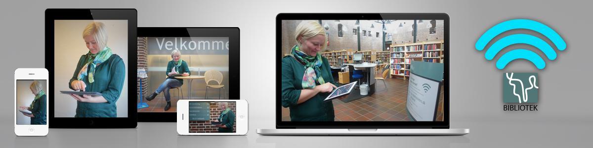Trådløst internet på biblioteket