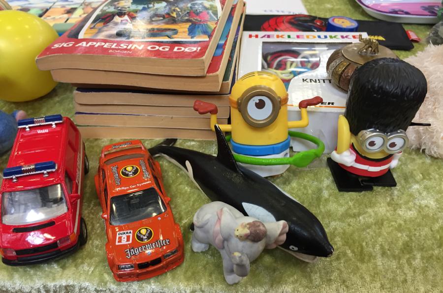 Børnenes eget legetøjsmarked på Holstebro Bibliotek
