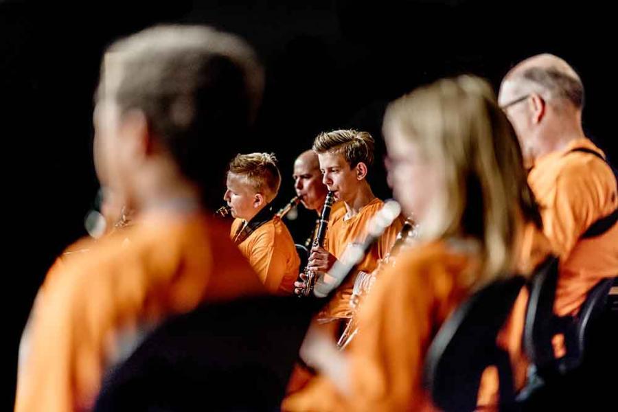 Klassisk koncert med elever fra MGK på Holstebro Biblotek